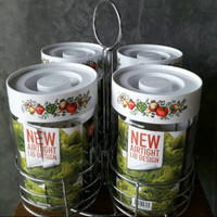 Special Lebaran - Toples Pyrex Store N See Set with Stainless Steel