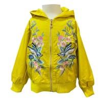 MOEJOE Floral with Bird Emboridery Jacket