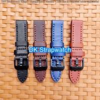 Tali kulit asli Jam Tangan Nautica strap leather watch Band.