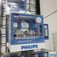 Philips H4 DiamondVision 5000K Halogen
