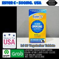 ESTER C VITAMIN C 500MG - 90 TABLET MADE IN USA