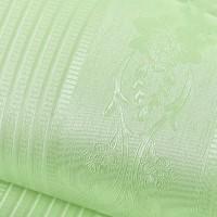 Polos hijau salur bunga 45 cm x 10 mtr ~ Wallpaper sticker dinding