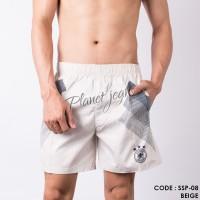 Celana pendek santai di atas lutut short pants pinggang boxer SSP08 - XXL