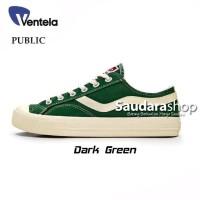 Sepatu Ventela Public Low Dark Green / Ventela Pubic Dark Green Low