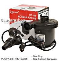 Pompa Angin listrik Stermay HT-196 / Pompa Angin / Pompa Kasur / Pompa