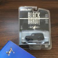Diecast Greenlight 1939 Chevrolet Panel Truck Black Bandit