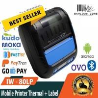 Printer Label Thermal 80mm VSC IW-80LP setara Zjiang Eppos Iware