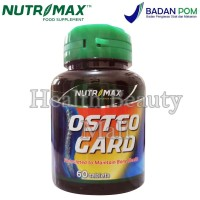 Nutrimax Osteo Gard 60 Tabs - Vitamin D Kalsium Tulang OsteoGard