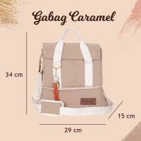 NEW Tas Asi Gabag Double Sling Series Rose Caramel Cooler Bag