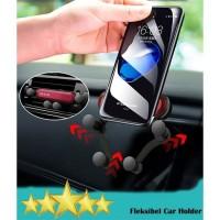 Car Holder Flexible Holder AC Mobil Gravity Holder Carmount