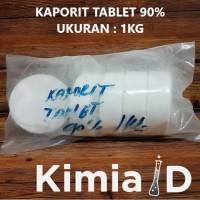 Kaporit Tablet Besar - 1 Kg - Pembersih Saluran Air Klorin Tablet