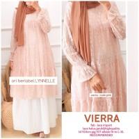 pakaian wanita/tunik dress/dress midi/dress midi tunik/dress lace