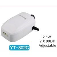 SUNSUN YT-302C 2.5W Magnetic Aquarium Air Pump Adjustable