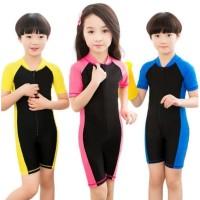 Baju Renang POLOS Anak-anak Pakaian Renang Swimsuit Swimwear