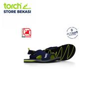 TORCH Sandal Arrafa Actisoft Navy Lime - 44