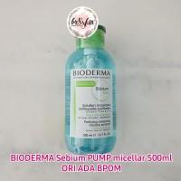 BIODERMA Sebium PUMP micellar water h2o 500ml