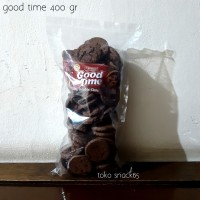 good time 400gr. snack biskuit coklat kilo 400 gr