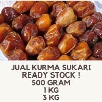 kurma sukari jumbo grade A premium@1kg/oleh oleh haji dan umroh