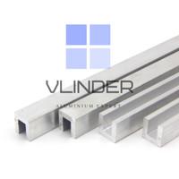 U Channel Aluminium 12.7 mm x 12.7 mm, t. 3.18 mm