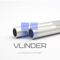 Pipa Aluminium OD 19 mm x ID 12.7 mm, t. 3.18 mm