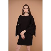 Dress Wanita EDITION ED83BLACK Short Sleeve