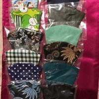 masker kain 3ply bahan katun cegah penyebaran corona bisa cuci murah