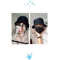 Topi anti corona / bucket hat / face shield