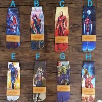 Kaos Kaki Anak Printing Motif Superhero 2