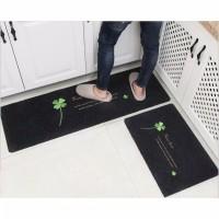 Keset Kaki Dapur Trendy Set / Keset Rumah Tangga Anti Slip