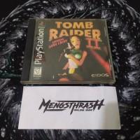 kaset game tomb raider 2 playstation 1