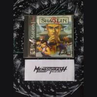 kaset game shaolin playstation 1