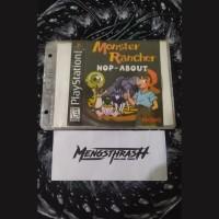 kaset game monster rancher hop about playstation 1