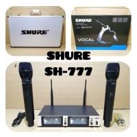 MICROPHONE WIRELESS/MIC SHURE SH-777 KOPER