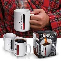 Mug Magic /New Magic Color Changing Cup Thermometer Coffee Mug Tank Up