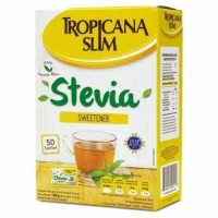 TROPICANA SLIM STEVIA BOX 50pcs