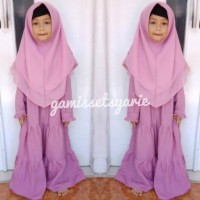 Jilbab Segiempat Instan Anak
