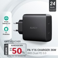 Aukey Amp 36W Power Delivery Wall Charger - 500406
