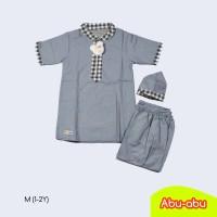 Baju Koko Turki Momina 1-5 T / Baju Muslim Anak Laki-Laki