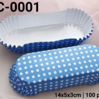 OCC-0001 Paper cup roti oval