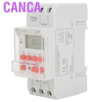 Canca Switch Relay Timer LCD ON / OFF DC 24V 30A Weekly 12 / 24hrs