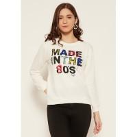 Carvil Sweater Wanita SWAN-7B OFF WHITE