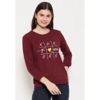 Carvil Sweater Wanita SWAN-2A MAROON