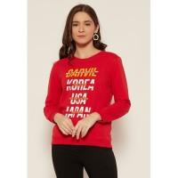 Carvil Sweater Wanita SWAN-06 RED
