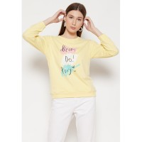 Carvil Sweater Wanita SWAN-1A YELLOW