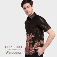 Jayashree Exclusive Slimfit Dirandra Short Sleeve