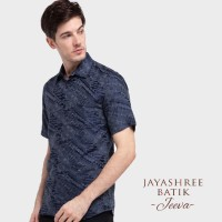 Jayashree Batik Slimfit Jeeva Midnight