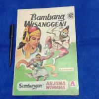 Komik Cerita Silat Klasik 'Bambang Wisanggeni buku A' Cetakan 1 1978