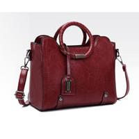 TAS TOTE BAG Tas wanita import set tas bahu tas selempang kulit PU 134