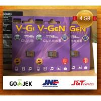 mmc vgen 4gb class 6 / mmc / micro sd / memori micro sd vgen / V-GEN