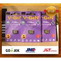 mmc vgen 8gb class 6 / mmc / micro sd / memori micro sd vgen / V-GEN